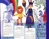 2007 Holiday Calendar Card