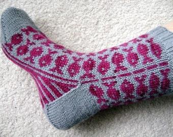Swedish Fish sock pattern
