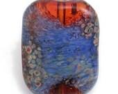 Amber Monet Crunch Glass Bead