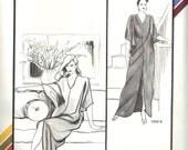 Stretch & Sew vintage Hostess Caftan pattern