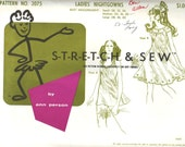 Stretch & Sew vintage Ladies' Nightgowns pattern