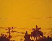 Squash City Silhouette
