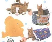 Simplicity 5233 cat bed, pillow, crinkle sack