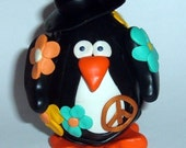 Pair of hippie penguins - Reserved