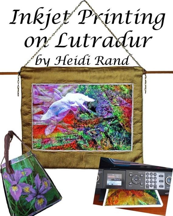 Inkjet Printing on Lutradur Ebook
