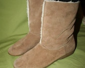 Suede Boots sz 7.5 or 8