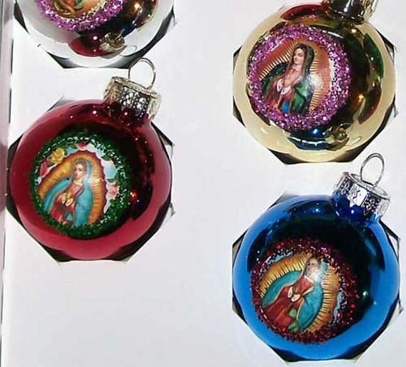 Virgen De Guadalupe Mexican Christmas Ornaments By MyMercado
