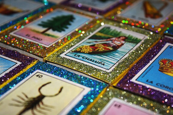 Mexican Wedding Favors Loteria Matchboxes Set Of 50