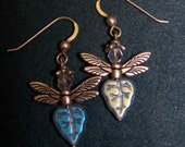 Leaf Fairy Earrings