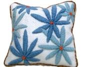 Crewel Embroidery Lavender Sachet Kit - Daisy Blues