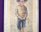Big Eyed Art ... 'Not Guilty' Boy