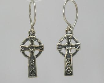 Celtic Cross, earrings