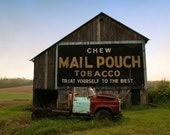 Chew Mail Pouch Tobacco 8x10 matted print (11 x 14 mat)