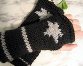 Star Fingerless Gloves