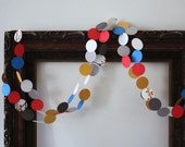 Paper Garland - Happy Pop - 8 ft