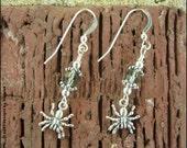 itsy, bitsy, spider earrings - BHV -