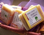 Bergamot Coriander Unisex Soap Bar- Vegan Cold Process