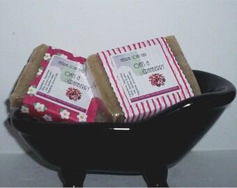 Cranberry Oatmeal Soap- Vegan Cold Process