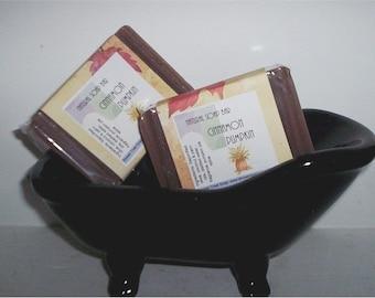 Cinnamon Pumpkin- Delicious Autumn Soap- Vegan