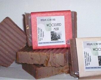 Woodland Musk- Vegan Soap for Men
