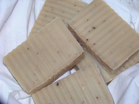 Sweet Ginger Orange Soap- Vegan Cold Process- Essential Oils
