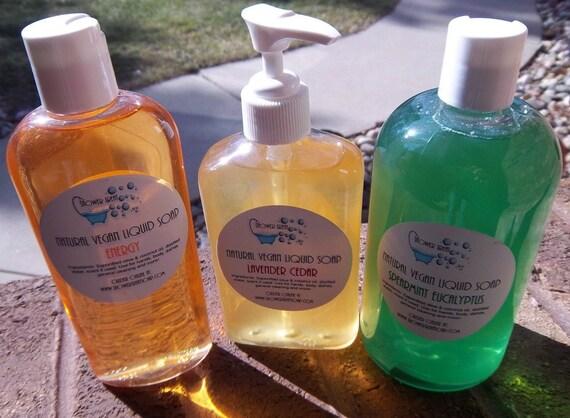 Vegan Liquid Soap RSVD for kallieadams