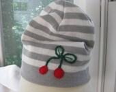 Cheery cherry hat