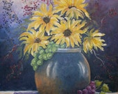 Beautiful Bouquet ACEO Limited edition limited to 8