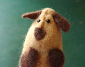 Victor the Maker Faire Dog finger puppet