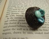 Robin's Button Nest