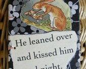 Kissed him goodnight mini journal