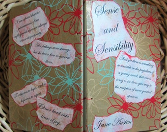 Sense and Sensibility handbound novel