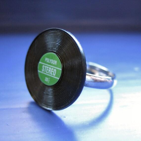 Mini Record Ring