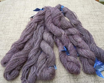 Handspun Hand Dyed Lincoln Mini Skeins - PS1