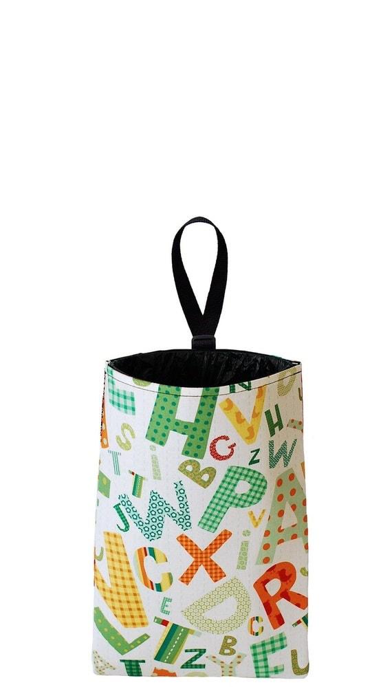 Auto Trash - Car Litter Bag - Alphabet