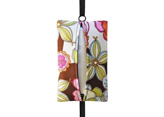 Auto Sneeze - Floral Punch - Visor Tissue Case/Cozy