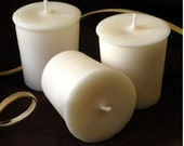 Unscented Soy Votive Candles set of 24