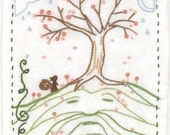 Hill Man embroidery pattern PDF download hand embroidery patterns designs