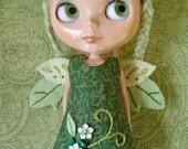 Little Wing green forest fairy Blythe dress