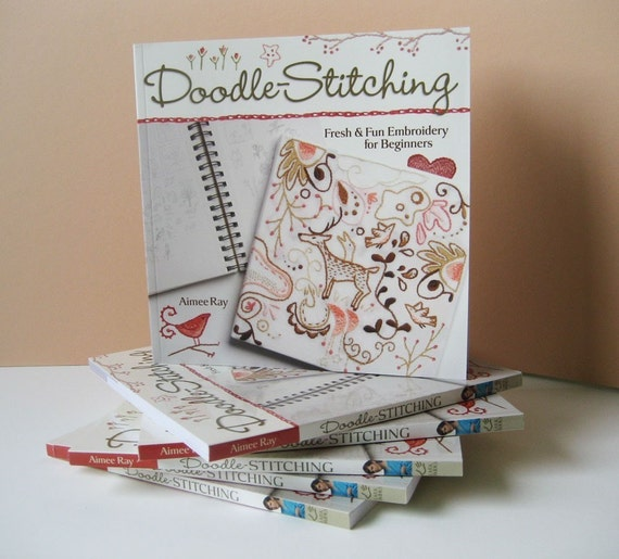 Doodle Stitching a new Embroidery book by Aimee Ray