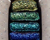 COLOR PALLETE Dichroic Glass Pendant Bead Melody