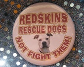 redskins rescue dogs... not fight them.... badge