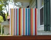 Mixed Paper Journal- Summer Stripes