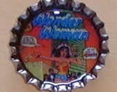 Wonder Woman Bottlecap Magnet