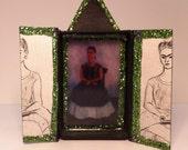 Frida Matchbox Retablo Magnet