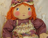 Original Cloth Doll, Handmade by Renata, APD