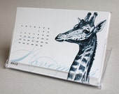 Creatures Great and Small - 2012 CD Desk Calendar