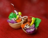 Salad Bowl Earrings