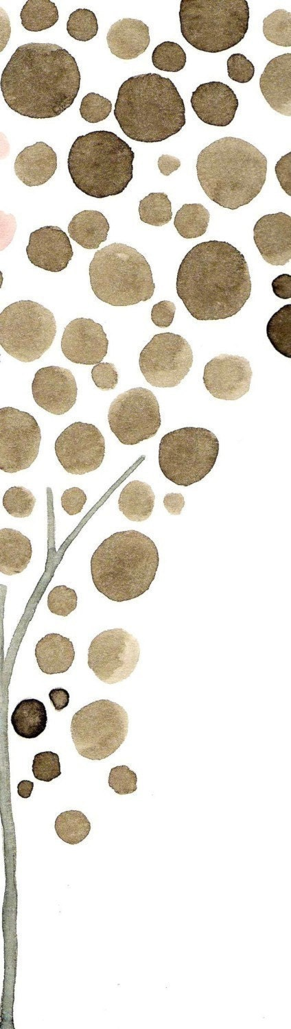 Tree Watercolor Art Forever and Always Print Wedding Wall Art decor