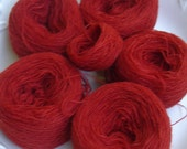 Rust Colored Yarn Skeins